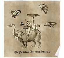 The Hunting of Voracious Butterflies Poster