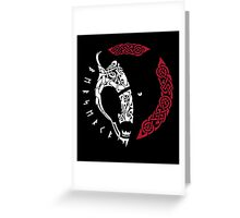 viking berserk Greeting Card
