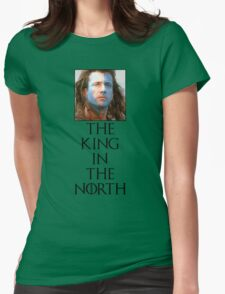 King In The North Parody Design Womens Fitted T-Shirt