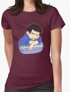 Slepping Karamatsu macaron Womens Fitted T-Shirt