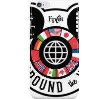 Eat Around the World - EPCOT checklist iPhone Case/Skin