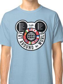Eat Around the World - EPCOT checklist Classic T-Shirt