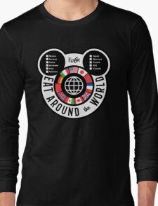 Eat Around the World - EPCOT checklist Long Sleeve T-Shirt