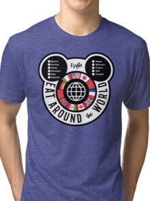 Eat Around the World - EPCOT checklist Tri-blend T-Shirt