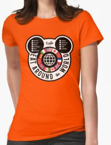 Eat Around the World - EPCOT checklist Womens Fitted T-Shirt
