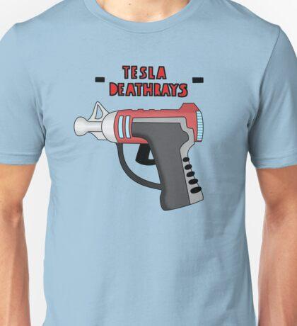 Tesla Deathrays  Unisex T-Shirt