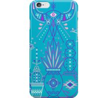 Santa Fe Garden – Blue & Purple iPhone Case/Skin