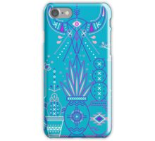 Santa Fe Garden – Blue & Purple iPhone Case/Skin