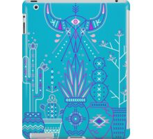 Santa Fe Garden – Blue & Purple iPad Case/Skin
