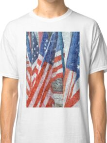 Many Stars and Stripes Classic T-Shirt
