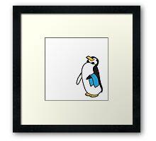 Ms. Poppins Penguin Framed Print