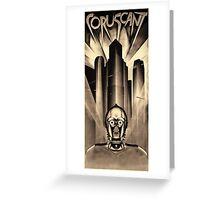 Metropolis meets Coruscant Greeting Card