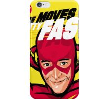 Life Moves Pretty Fast iPhone Case/Skin