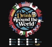 Drink Around the World - EPCOT Checklist v1 by tonysimonetta