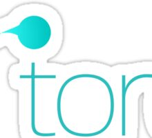 Torch Logo Horizontal Sticker