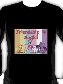 My Little Pony - Friendship is Magic (Mane Six) T-Shirt