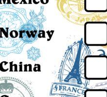 Drink Around the World - EPCOT Passport Sticker