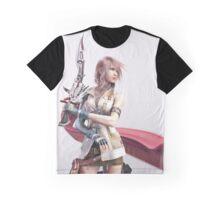 (Full Body) Final Fantasy XIII - Lightning Returns Graphic T-Shirt