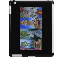 Muppets Haunted Mansion Stretching Room Portraits iPad Case/Skin