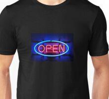 Open - Neon Unisex T-Shirt