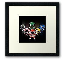 Powerpuff Rangers! Framed Print