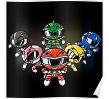Powerpuff Rangers! Poster