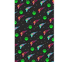 Alien Zap Photographic Print