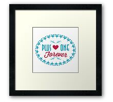 Rookie Blue - Gail x Holly Quotes [3] Framed Print