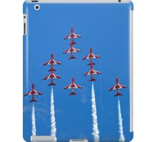 The RAF Red Arrows Aerobatic Team iPad Case/Skin