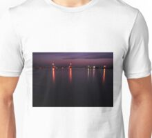 Boca Grande Causeway at Night, As Is Unisex T-Shirt