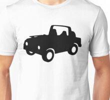 Topless Suzuki SJ Unisex T-Shirt