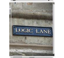 Logic Lane iPad Case/Skin