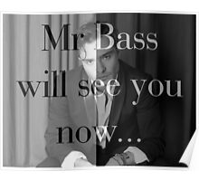 Mr Bass will see you now Poster