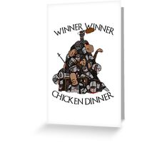 "Game of Thrones- ""Sweet Chicken"" Greeting Card"