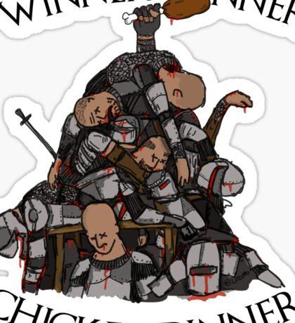 """Game of Thrones- """"Sweet Chicken"""" Sticker"""