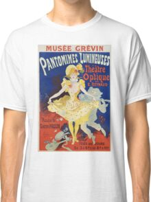 Jules Cheret - French Poster For Early Motion Picture Pantommes Lumineuses. Dancer painting: dance, ballet, dancing woman, ballerina, tutu, femine, women, dancer, disco, dancers, girls Classic T-Shirt