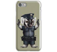 BADGER POLICE iPhone Case/Skin