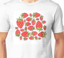 eat your strawberries Unisex T-Shirt