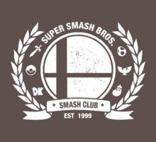 Smash Club Ver. 2 (White) Kids Clothes