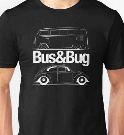 VW Bus & Beetle Logo Unisex T-Shirt