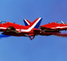 The RAF Red Arrows Aerobatic Team Sticker
