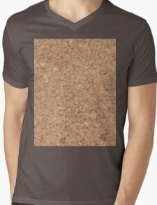 Cork Mens V-Neck T-Shirt