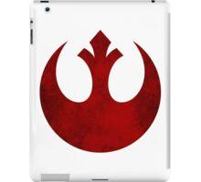 Rebel Alliance vintage logo iPad Case/Skin