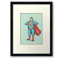 Super Nipples Framed Print