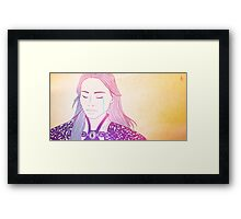 Once Upon a Time - Mulan  Framed Print