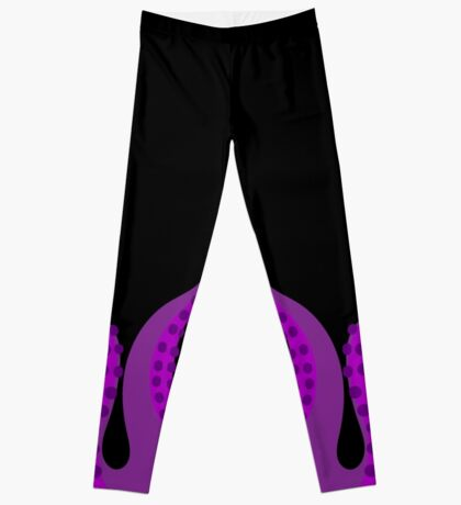 Purple Tentacles Leggings