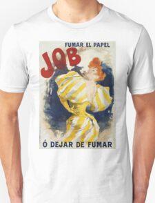 Jules Cheret - O  Dejar De Fumar Cigar Advertisement Poster. Dancer painting: dance, ballet, dancing woman, ballerina, tutu, femine, women, dancer, disco, dancers, girls Unisex T-Shirt