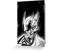 The Dark Hopper Rises Greeting Card