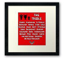 Manchester United 1999 Treble Winners Framed Print