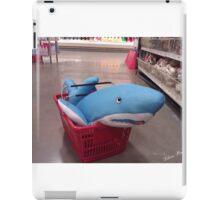 Shopping for a Shark  iPad Case/Skin